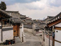 bukchon Corée du Sud