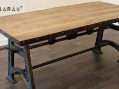 table industrielle extensible